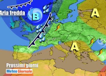 meteogiornale 7 g 8 350x250 - CAMBIA TUTTO: meteo estremo verso il FREDDO invernale