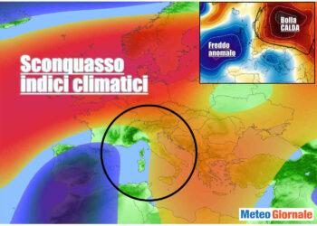sconquasso meteo in europa 350x250 - Meteo Italia sino al 14 marzo, FREDDO poi MITE poi ancora FREDDO