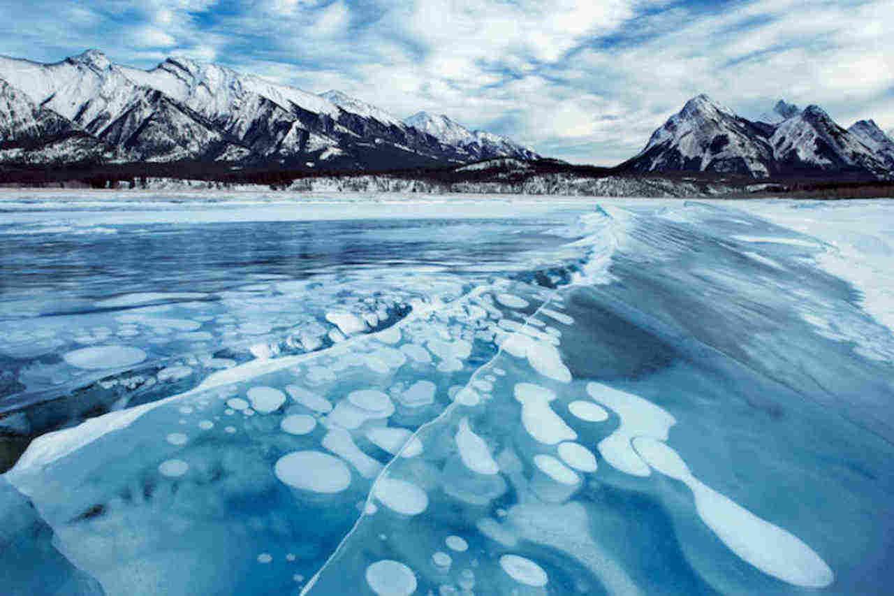 bolle metano - Metano Artico e riscaldamento globale: un mix esplosivo