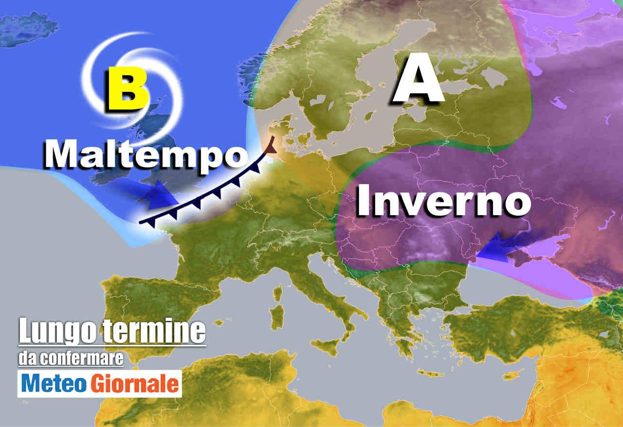 meteo 15 novembre - Meteo Italia nel lungo termine, SVOLTA a fatica: Anticiclone coriaceo