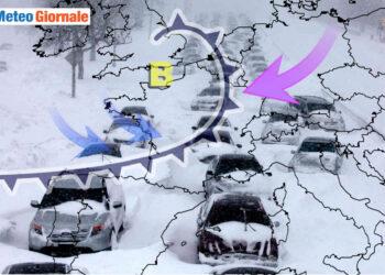 Evoluzione meteo eccezionalmente invernale.