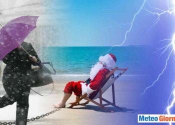 Meteo dicembre dinamico con Natale incerto.