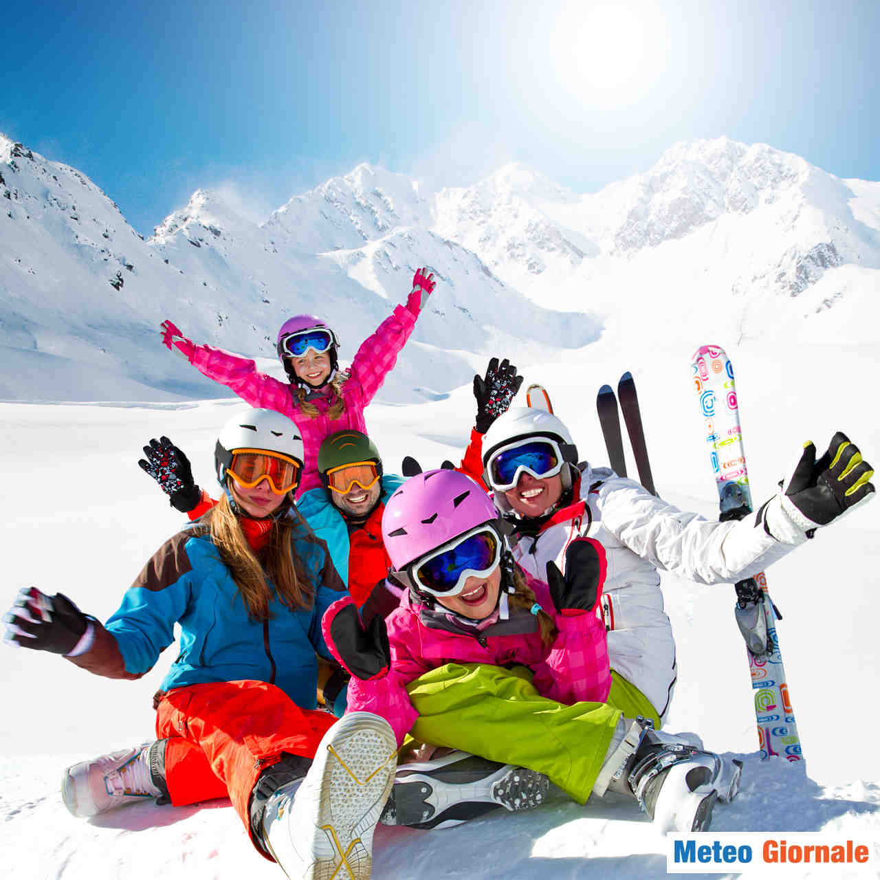 meteo giornale 00056 - ITALIA niente sci, attesa molta NEVE. Invece scarsa su Svizzera e Austria