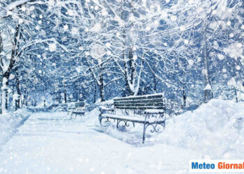 Copiose nevicate in arrivo su alcune aree montuose, specie in Appennino