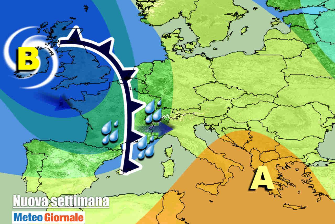 meteo nuova settimana - Quando tornerà la pioggia? Possibili novità meteo la prossima settimana