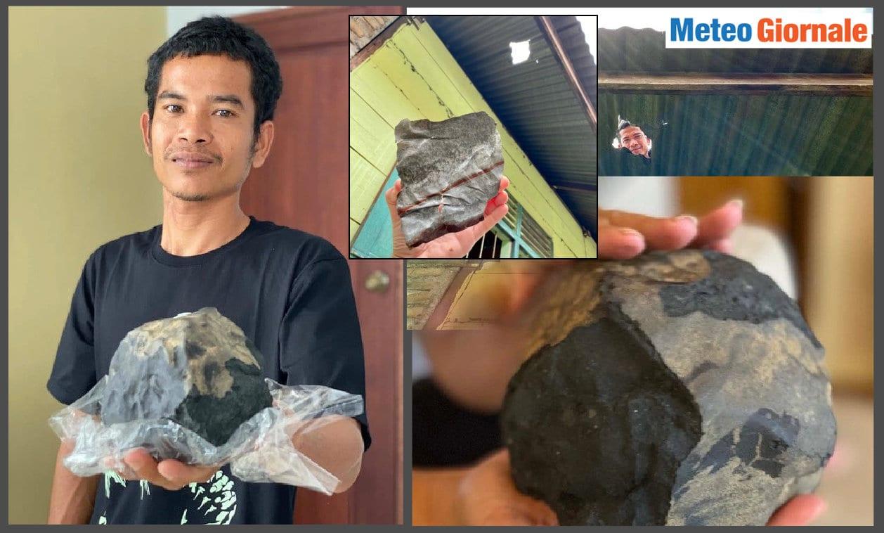 meteorite cade su una casa - Meteorite fora il TETTO di una CASA, e lui diventa MILIONARIO