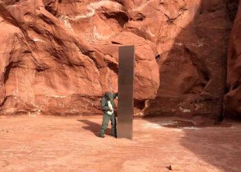 Il monolite scovato nel deserto dello Utah