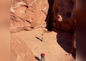 Monolite Utah scomparso.