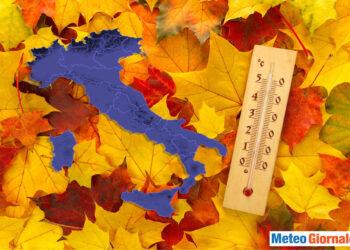 Ottobre 2020 freddo in Italia.