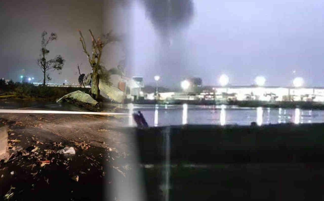 tornado catania - TORNADO distruttivo si abbatte su Catania. Il video e foto
