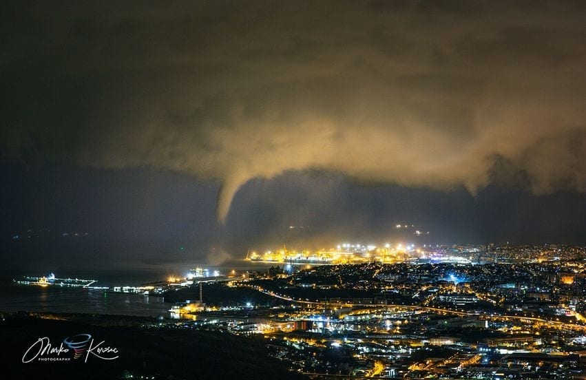 130542619 5163202653697350 2585216869114094581 o - METEO: forte maltempo. Tornado colpisce Trieste, con anche grandine. Video