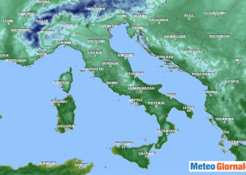 Temperature del primo mattino previste per domani, domenica 13 Dicembre.