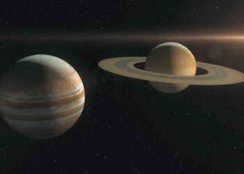 I due pianeti hanno dato spettacolo