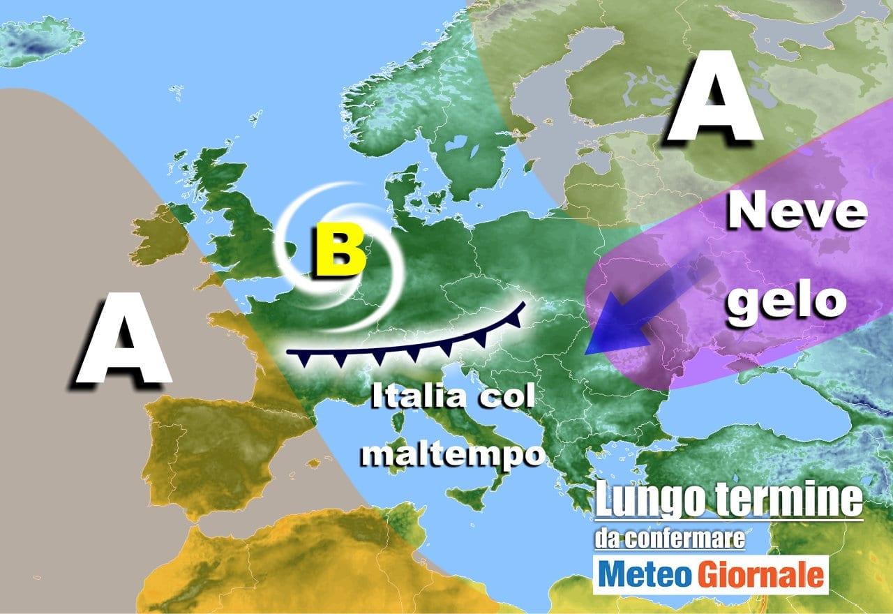 meteo 24 dicembre - Meteo Italia tra Natale e Capodanno: Anticiclone, Atlantico e Gelo