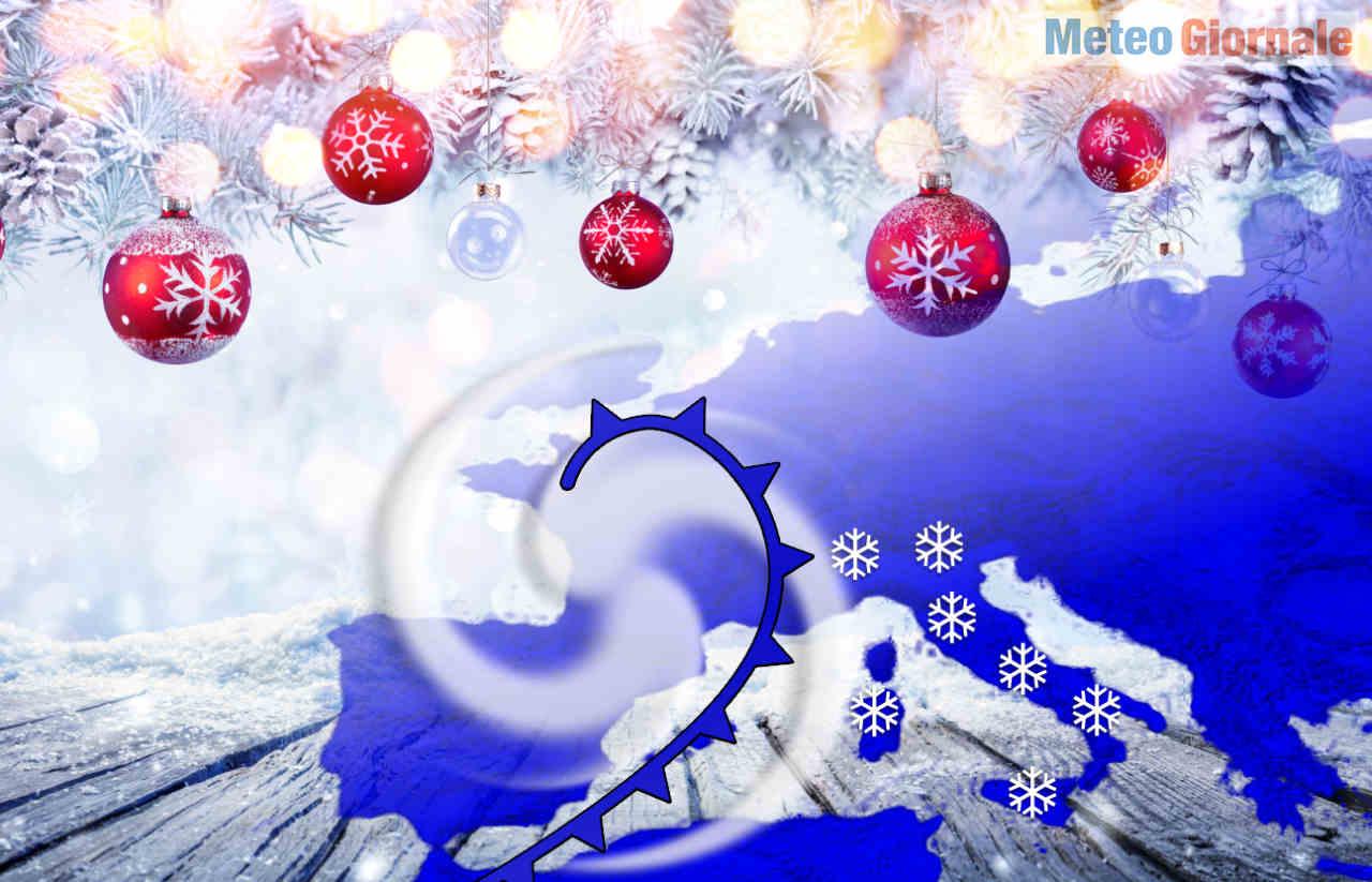 meteo dal bianco natale 2020 e la neve - Le incredibili novità meteo di Natale e Capodanno