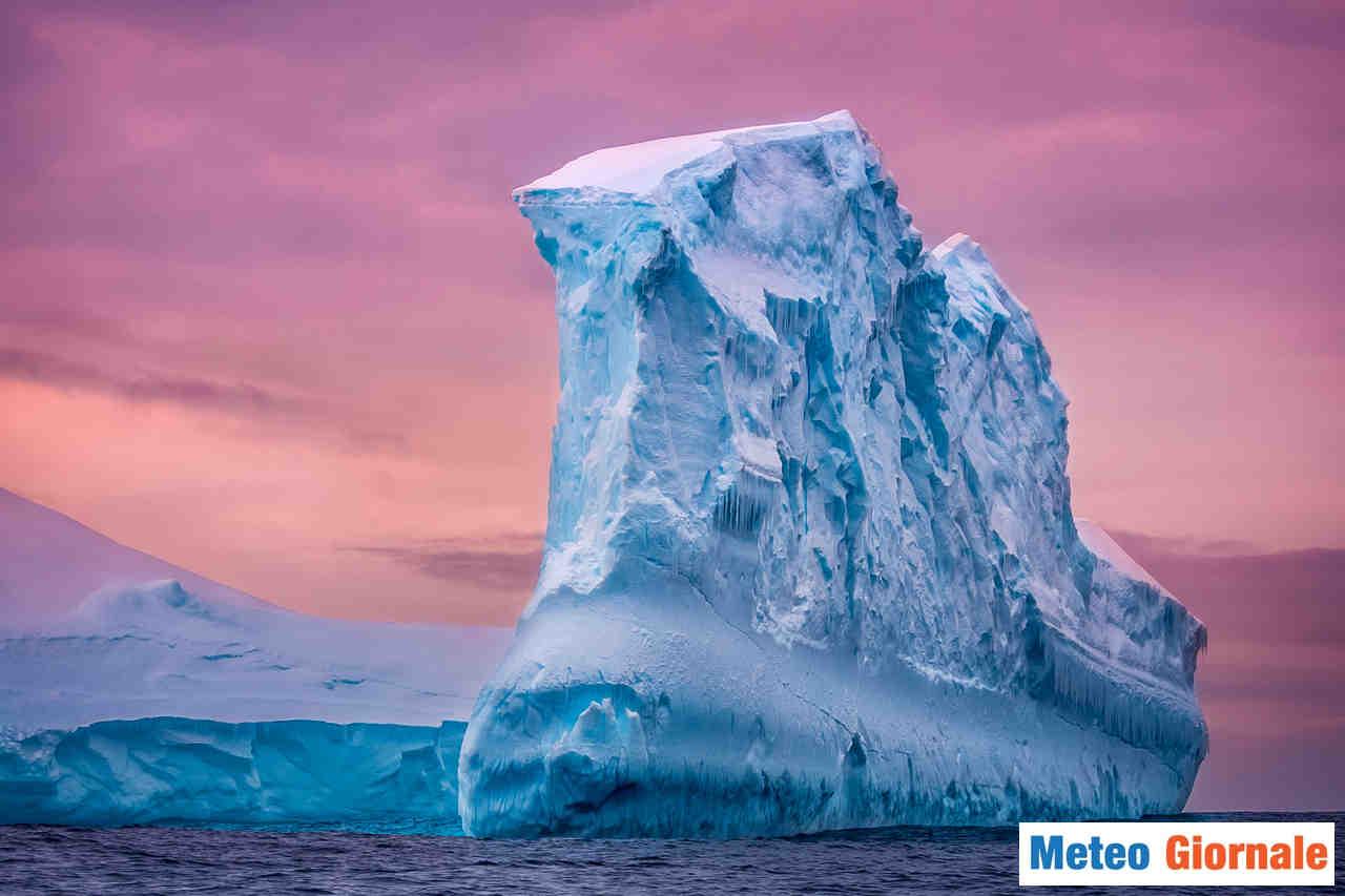 meteo giornale 00025 1 - Mega Iceberg si rompe a pezzi. Minaccia collisione con la Georgia del Sud