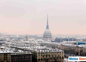 Neve su Torino.