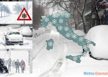Meteo invernale, ogni anno si rischia l'evento di freddo storico.