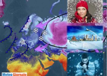 Il rischio di inverno dal meteo folle..