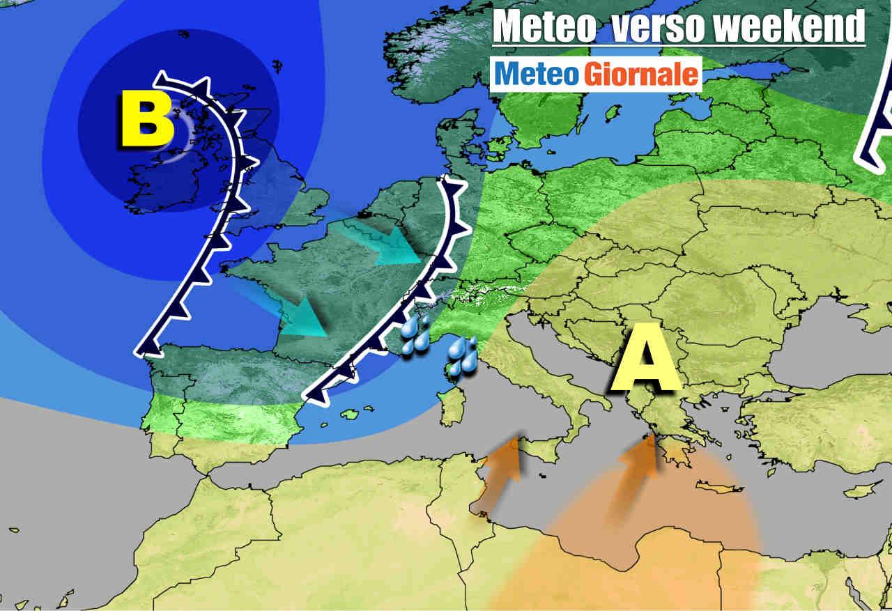meteogiornale 7 g 15 - METEO 7 Giorni. STOP Inverno, ma puntualmente tornerà per Natale