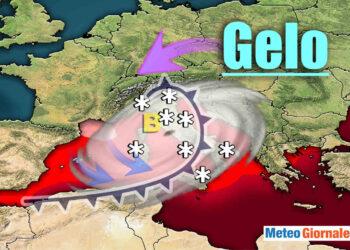 Un mix di ciclogenesi mediterranea con aria fredda siberiana, potrebbero innescare tempeste di neve su tutta Italia.