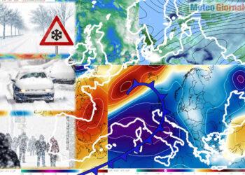 Trend meteo caos modelli matematici invernali.