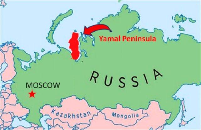 yamal peninsula - Siberia, strane esplosioni nella Terra della fine del Mondo
