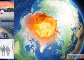 Temperature polari sopra la media. Sconquasso nel nostro Emisfero.