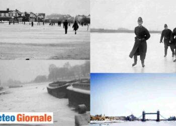 Gelo a Londra nell'Inverno 1962-63.
