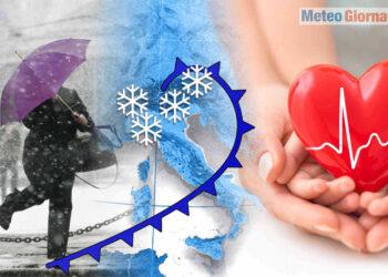 Cardiopalma da appassionato di neve.