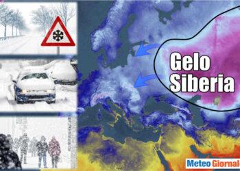 Gelo estremo a braccetto con il riscaldamento globale
