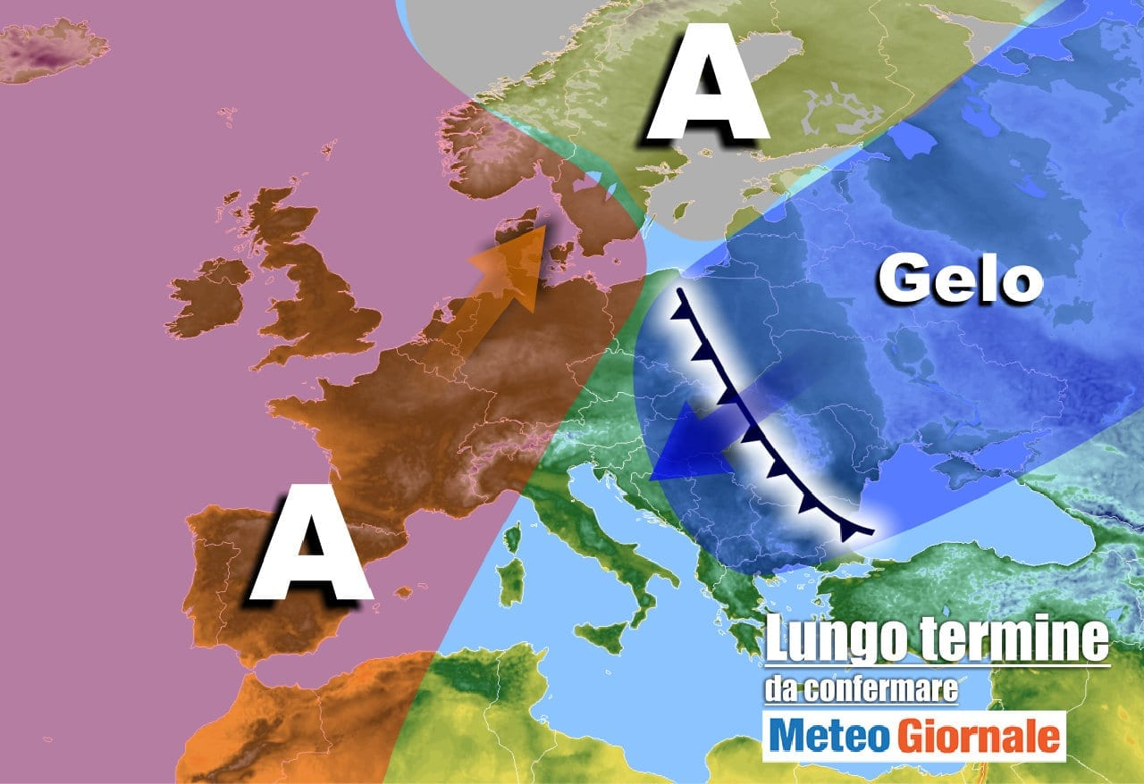 meteo 15 gennaio - Meteo Italia verso il 21 gennaio: Inverno al bivio, tra GELO e Anticiclone