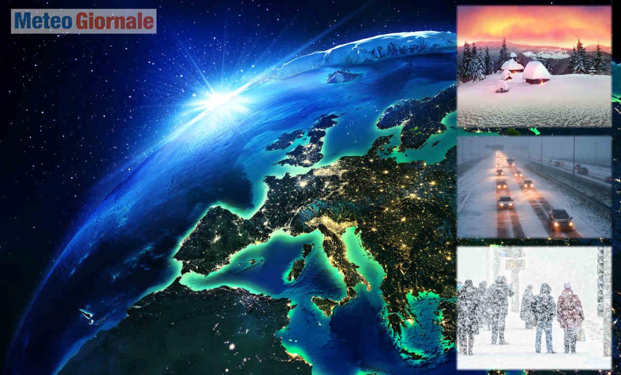 meteo aeronautica militare - Meteo 30 giorni dell'Aeronautica Militare: segue l'Inverno