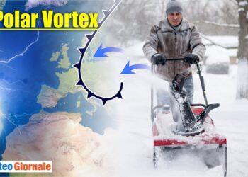 Meteo con Vortice Polare pronto a esplodere.
