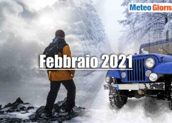 Meteo Febbraio 2021.