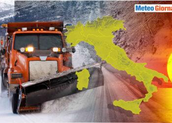 meteo freddo in un inverno mite 350x250 - Meteo Italia al 7 febbraio: nuova accelerazione dell'Inverno