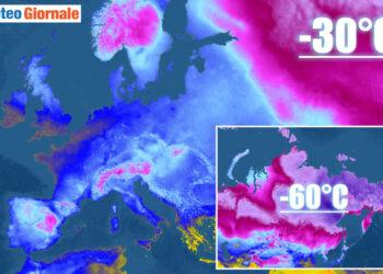 meteo gelido dalla siberia verso europa 01 350x250 - Incredibile in Siberia: trovato Orso delle Caverne dell'era glaciale