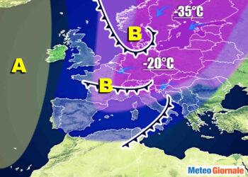 Meteo Gennaio gelido e con bassa pressione.