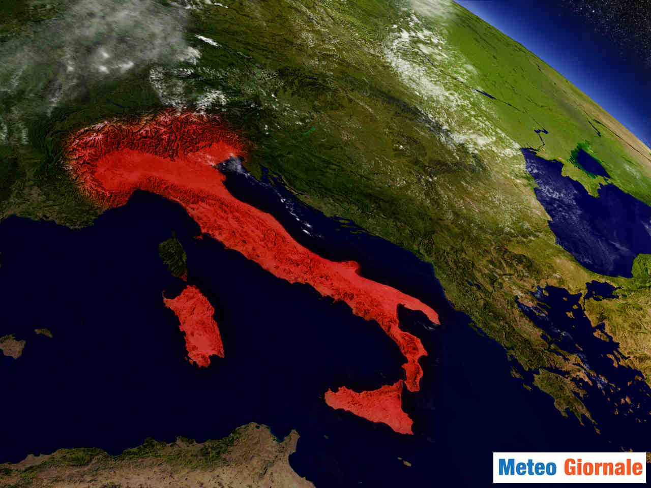meteo giornale 00023 - Clima Città d'Italia: l'andamento incredibile delle temperature