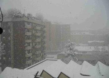 La neve su Milano del gennaio 2006
