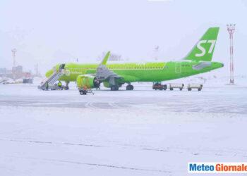Tempesta di neve. Immagine di repertorio.