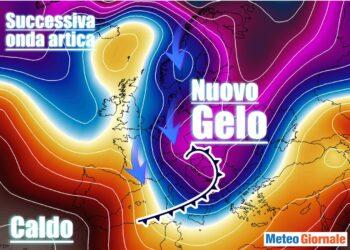 Meteo incerto tra aria fredda e mite. Attenzione al freddo polare.