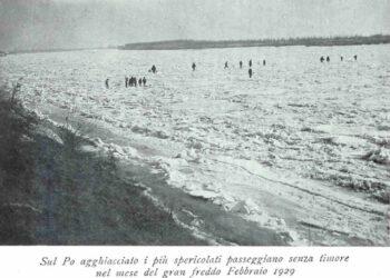 Storica immagine del febbraio 1929