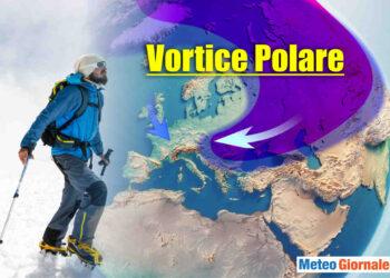Vortice Polare ampie variazioni.