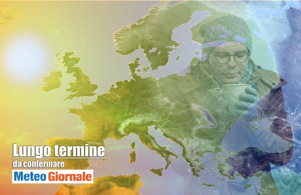 Lungo termine 2 - Meteo Italia al 27 febbraio con GELO e possibile NEVE