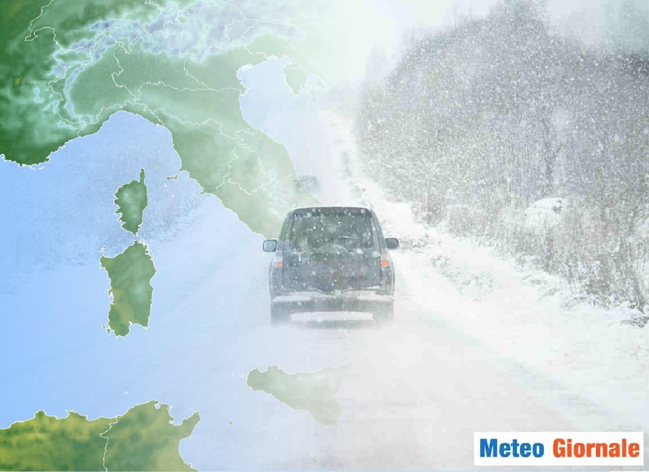 Lungo termine alternativo - Meteo Italia sino al 26 Febbraio, FREDDO persistente