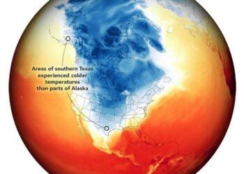 US cold Feb2021 350x250 - Stati Uniti in balia del GELO estremo. In Texas è l'evento meteo del secolo