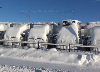 caos vortice polare gelo e neve 350x250 - Vortice Polare spaccato in due. La via del GELO non l'Italia, i perché