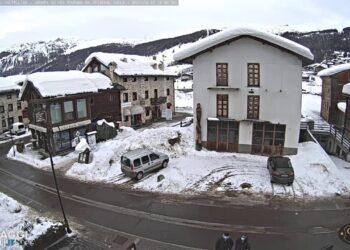 diretta meteo da livigno webcam 350x250 - Trepalle, il posto più freddo d'Italia. Zero gradi anche d'Estate. Video