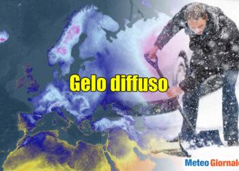 Tutto febbraio si prevede all'insegna del grande gelo